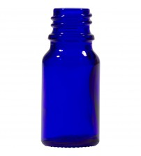 10 ML Cobalt Blue Glass Euro Dropper Bottle With 18 Mm Neck Finish - 1 Unit @ $0.75 Per Bottle