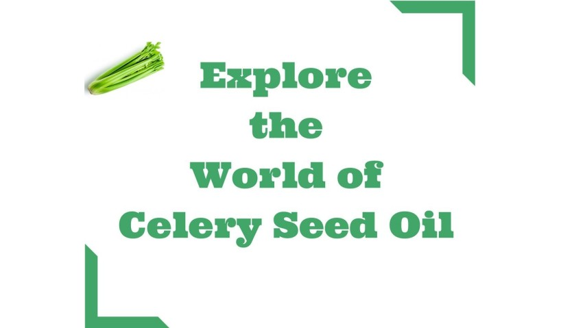 Health Benefits Of Celery Seed Essential Oil You Never Knew