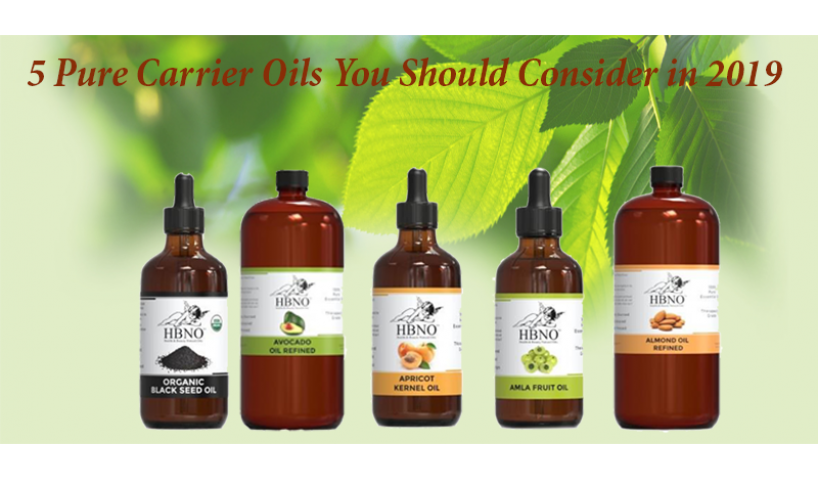 5 Pure Carrier Oils You Should Consider in 2019
