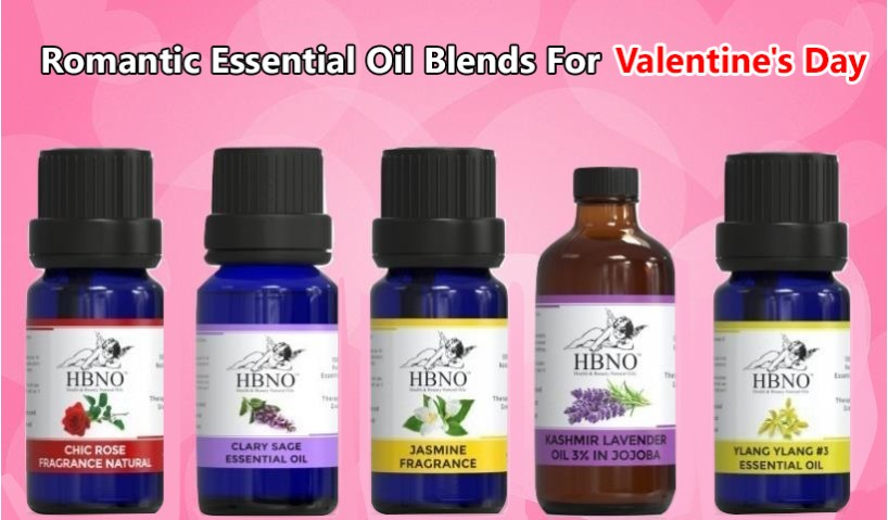Romantic Essential Oil Blends For Valentine's Day