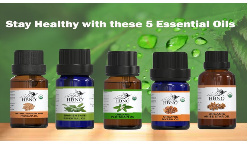 Stay Healthy with these 5 Essential Oils