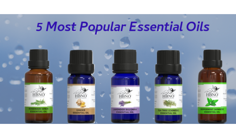 5 Most Popular Essential Oils and Their Uses