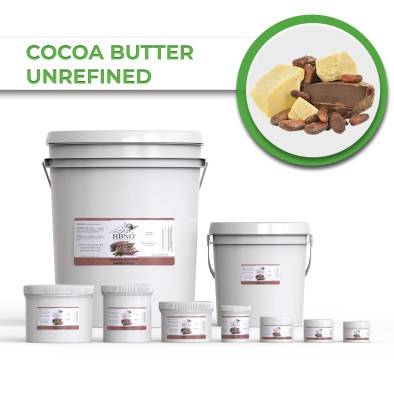 Cocoa Butter, Unrefined
