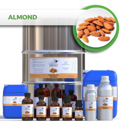 Almond Oil, CALIFORNIA ORIGIN, Refined