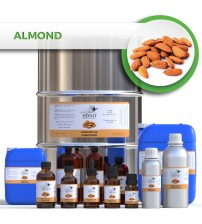 Almond Oil, CALIFORNIA ORIGIN, Unrefined Virgin