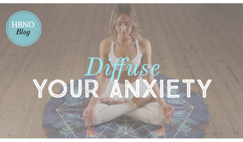 Essential Oil Recipe: Diffuse Your Anxiety