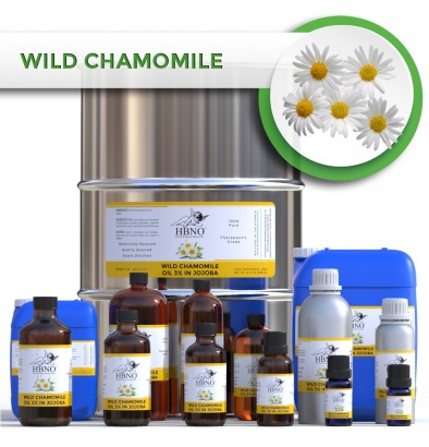 Wild Chamomile Oil 3% in Jojoba