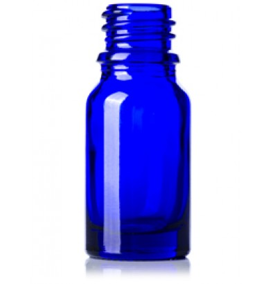 10 ML Cobalt Blue Glass Euro Dropper Bottle With 18 Mm Neck Finish - 768 Units @ $0.15 Per Bottle