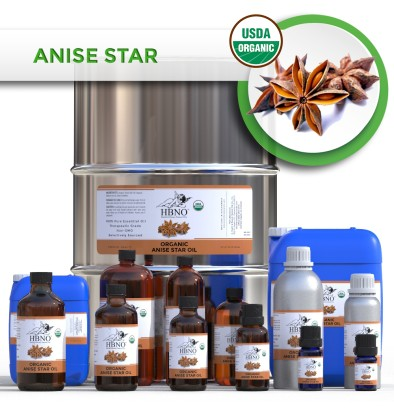 Anise Star Essential Oil, ORGANIC