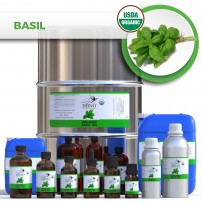 Basil Sweet Essential Oil, ORGANIC