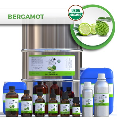 Bergamot Essential Oil, RECTIFIED (BF) ORGANIC
