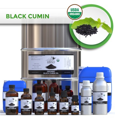 Black Seed (Black Cumin) Oil Virgin, Unrefined TURKEY ORGANIC