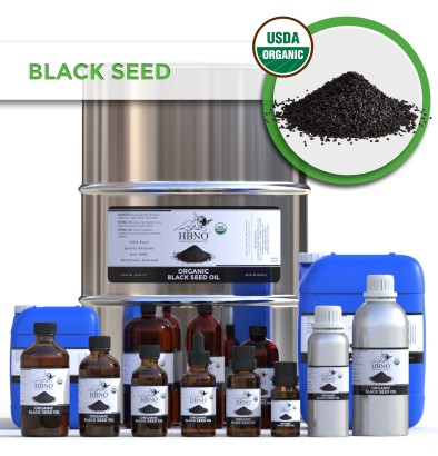 Black Seed (Black Cumin) Oil Virgin, Unrefined INDIA ORGANIC