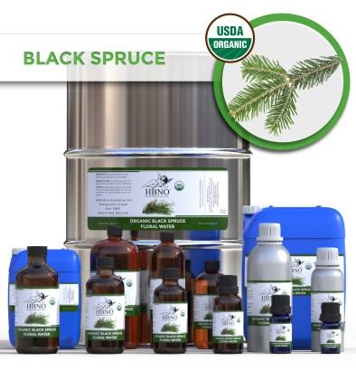 Organic Black Spruce Floral Water