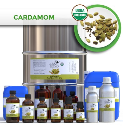 Cardamom Essential Oil, ORGANIC