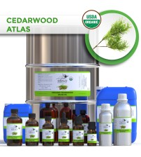 Cedarwood Atlas Essential Oil, ORGANIC
