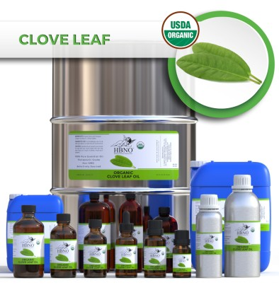 Clove Leaf Essential Oil, ORGANIC