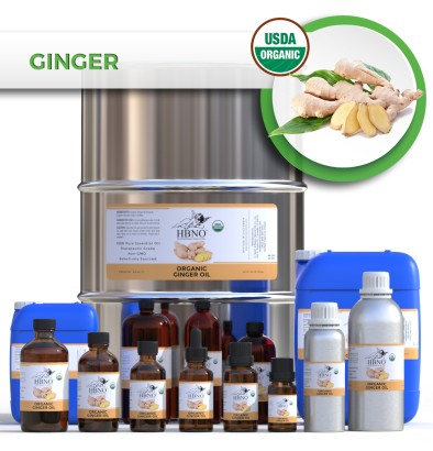 Ginger Essential Oil, ORGANIC