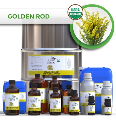Organic Goldenrod Floral Water