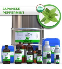 Peppermint Japanese Essential Oil, ORGANIC