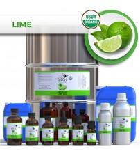 Organic Lime Essential Oil, Cold Pressed