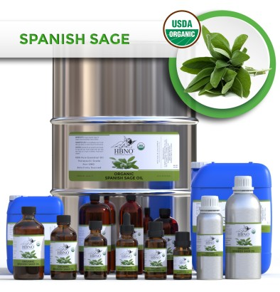 Sage Spain Essential Oil, ORGANIC