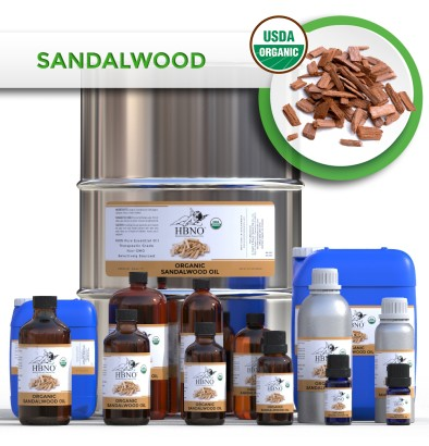 Sandalwood Essential Oil, ORGANIC