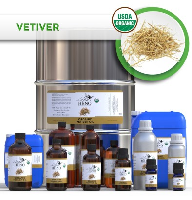 Vetiver Essential Oil Haiti, ORGANIC