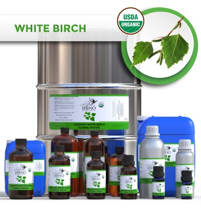 Organic White Birch Floral Water