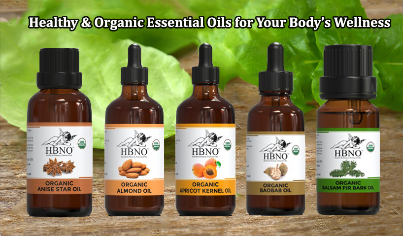 Healthy & Organic Essential Oils for Your Body's Wellness