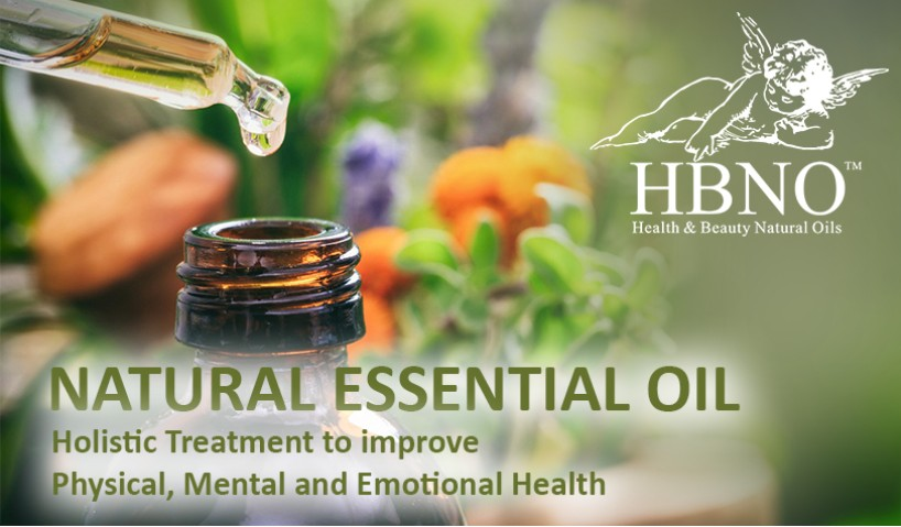 Natural Essential oils: Holistic Treatment to Improve Physical, Mental and Emotional Health