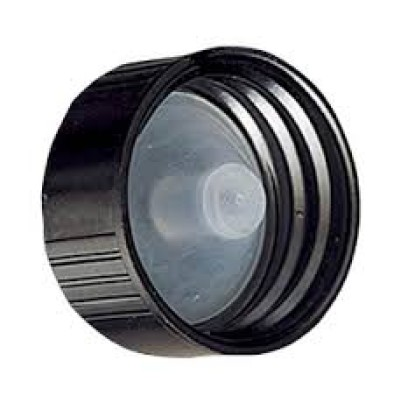Black phenolic Cap 22 mm with LDPE liner - 4000 Units @ $0.15 Per Cap