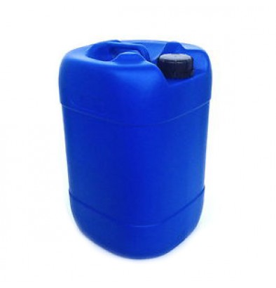 1.3 Gallon (5 liters) Blue HDPE Plastic Container with Tamper Evident Cap @ $10.50